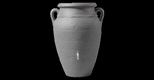 Antik-Amfora fali esovizgyujto tartaly 260 l, sotet granit