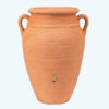 Antik-Amfora fali esovizgyujto tartaly 260 l, terrakotta