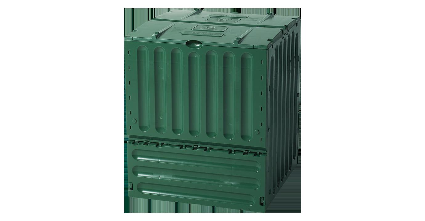 Eco-king komposztáló 600 l, zöld