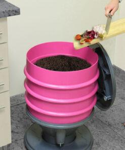 Eco-Worms komposztalo, almazold