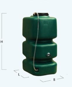 KERTI esővízgyűjtő tartály 500 l