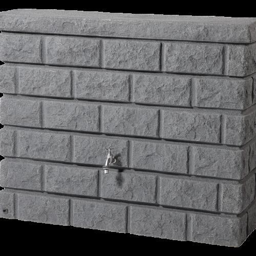 ROCKY esovizgyujto falitartaly 400 l, sotet granit